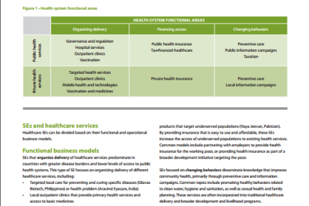 Sector Brief: Healthcare, 2013