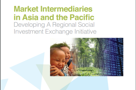 Market Intermediaries in Asia and the Pacific