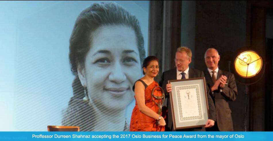 Oslo Business for Peace Award